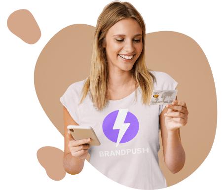 Get more website sales with BrandPush.co